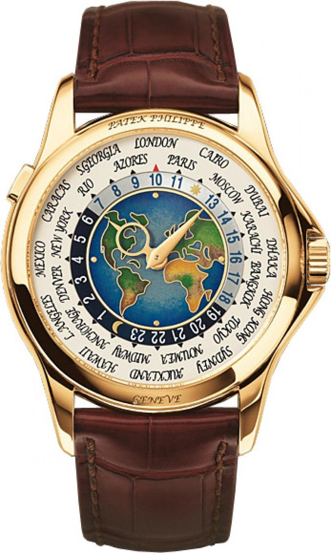 Patek Philippe 5131J-001 Complications World Time - фото 1