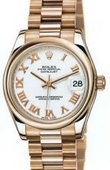 Rolex Datejust Ladies 178245 white Everose Gold