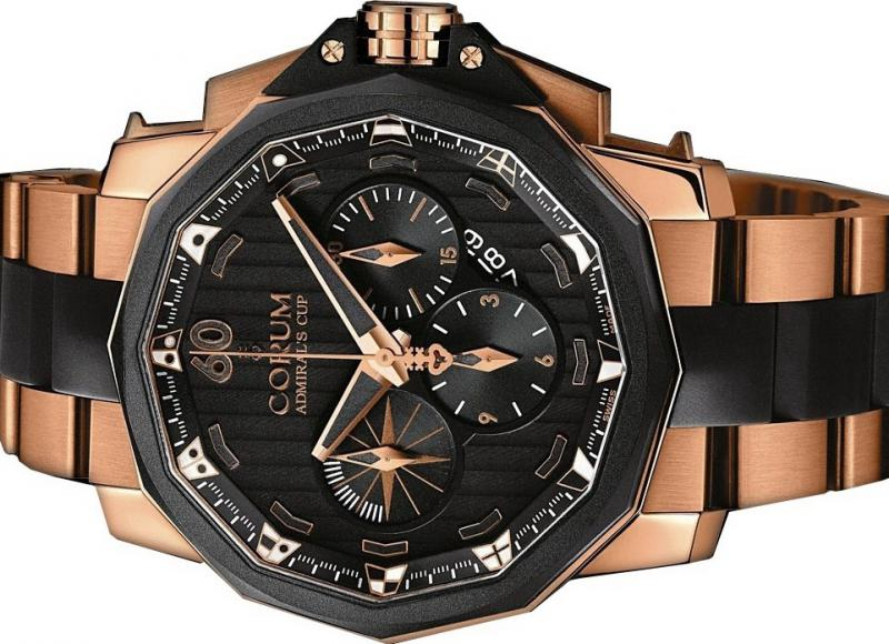 753.935.91/V791 AN12 Corum Admiral`s Cup Challenger Chrono 48 Admirals Cup Challenger