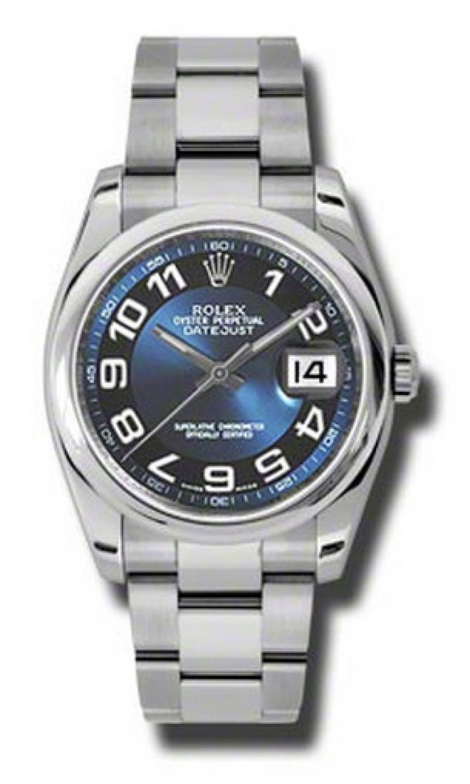 Rolex 116200 blbkao Datejust Steel - фото 1