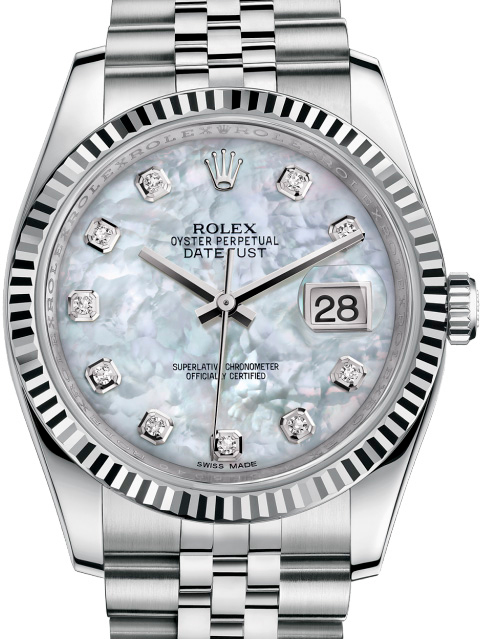 116234 mdj Rolex Steel Datejust