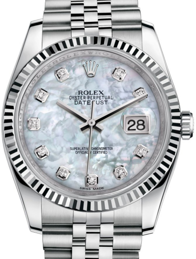 Rolex 116234 mdj Datejust Steel