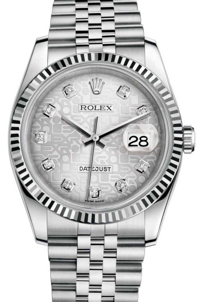 116234 sjdj Rolex Steel Datejust