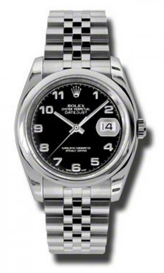 Rolex 116200 bkaj Datejust Steel