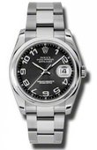 Rolex Datejust 116200 bkcao Steel