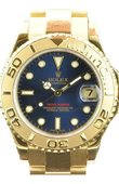 Rolex Yacht Master II 168628 Blue Yacht-Master 35mm Yellow Gold