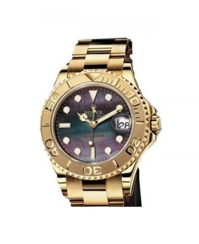 Rolex 168628 black Yacht Master II Yacht-Master 35mm Yellow Gold - фото 1