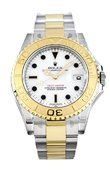 Rolex Yacht Master II 168623 white dial Yacht-Master 35mm Steel and Yellow Gold