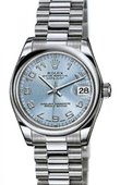 Rolex Datejust Ladies 178246 ice blue Platinum