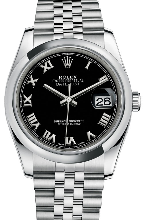 116200 bkrj Rolex Steel Datejust