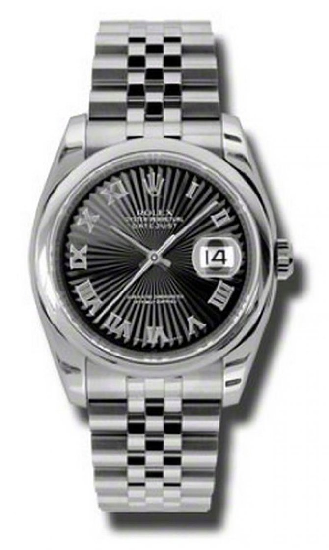 116200 bksbrj Rolex Steel Datejust