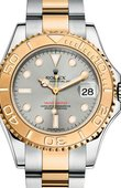 Rolex Yacht Master II 168623 Steel Yacht-Master 35mm Steel and Yellow Gold