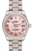 Rolex Datejust Ladies 178286 pinkmop Platinum