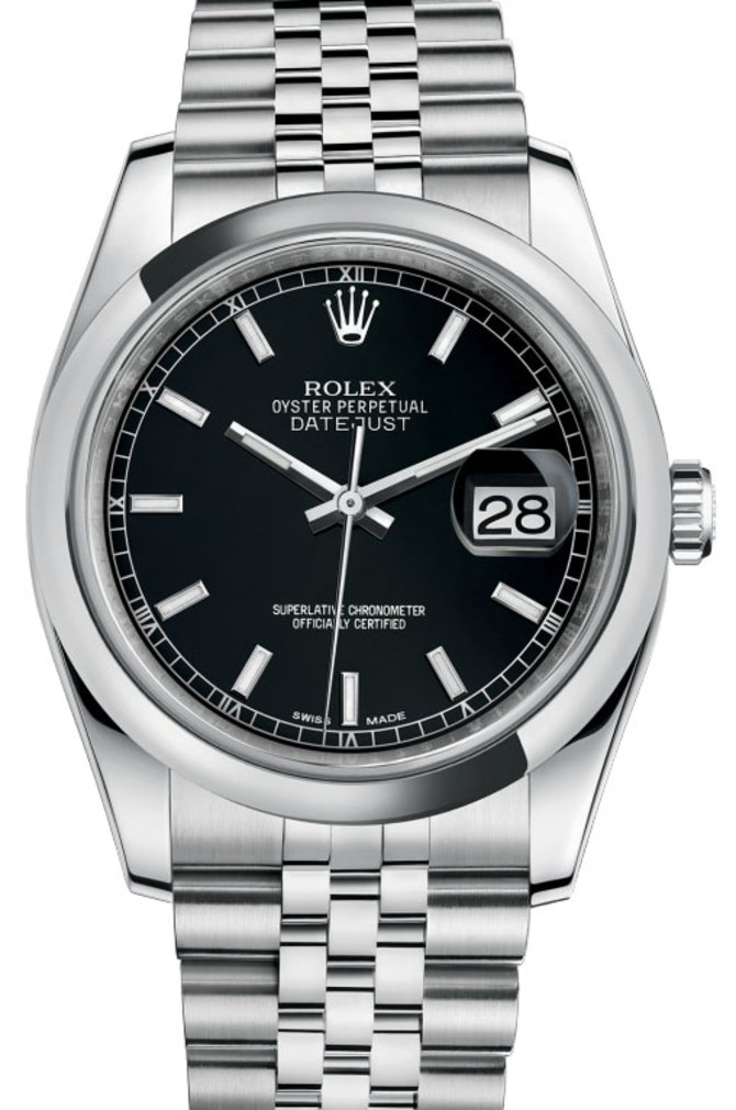 Rolex 116200 bksj Datejust Steel