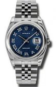 Rolex Datejust 116200 bljrj Steel