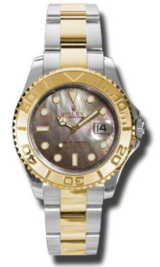 Rolex 168623 dark Yacht Master II Yacht-Master 35mm Steel and Yellow Gold - фото 1