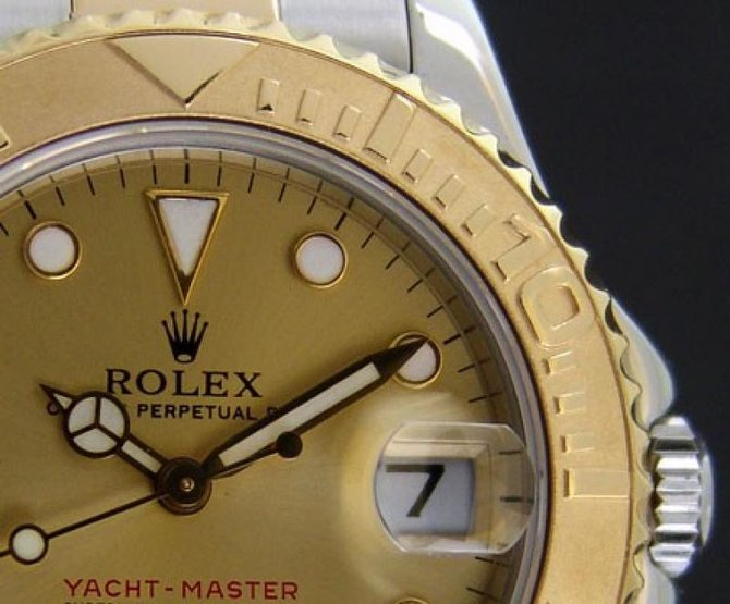 Rolex 168623 Champagne Yacht Master II Yacht-Master 35mm Steel and Yellow Gold - фото 4