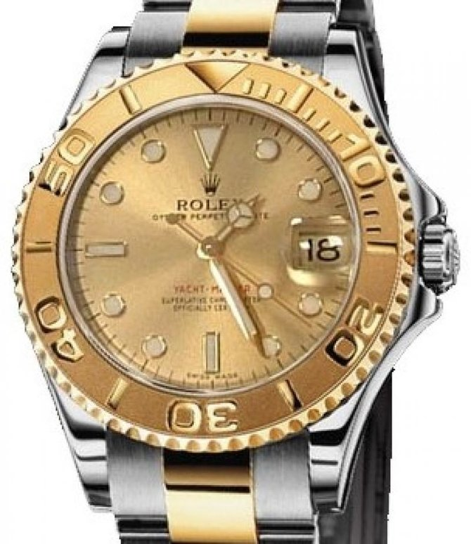 Rolex 168623 Champagne Yacht Master II Yacht-Master 35mm Steel and Yellow Gold - фото 2