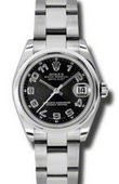 Rolex Datejust Ladies 178240 bkcao Steel