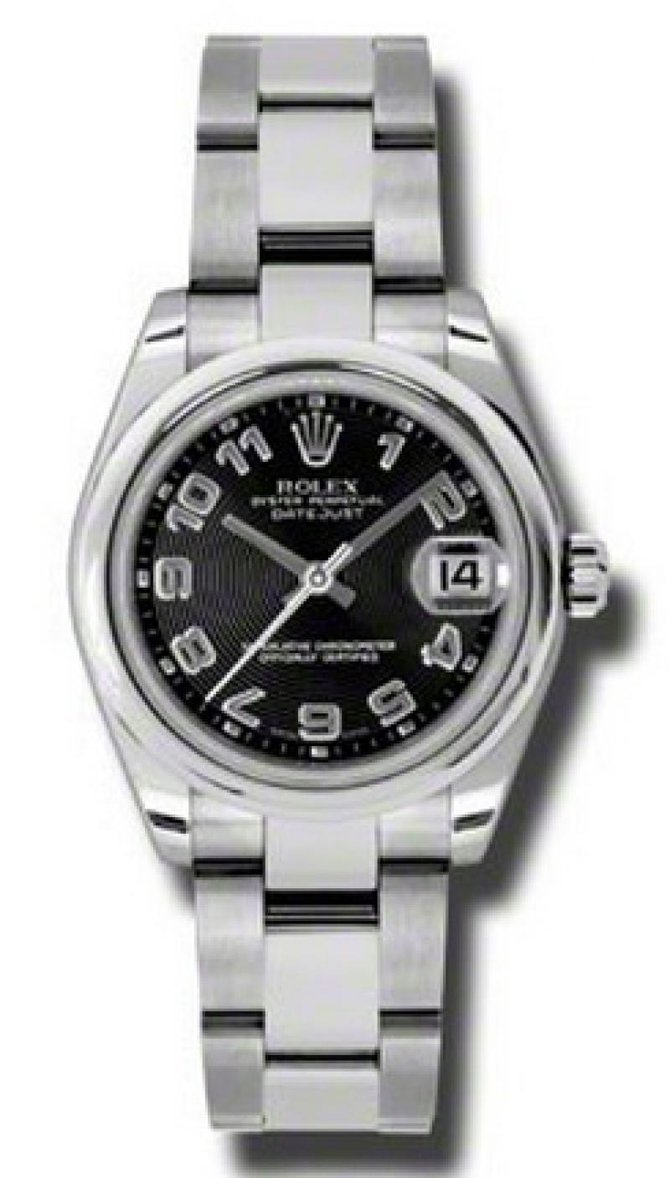 178240 bkcao Rolex Steel Datejust Ladies