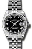 Rolex Datejust Ladies 178240 bkrj Steel
