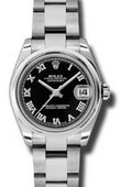 Rolex Datejust Ladies 178240 bkro Steel