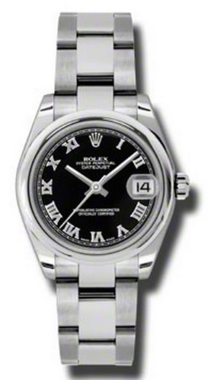 Rolex 178240 bkro Datejust Ladies Steel
