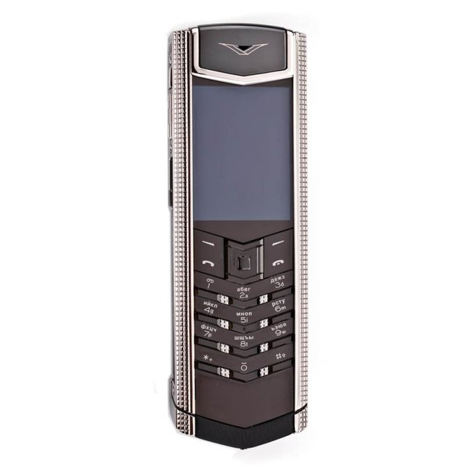 Vertu 0020V20 Signature S Design Clous De Paris Steel - фото 1