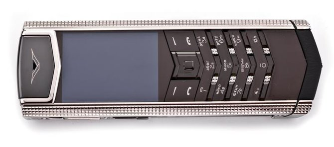 Vertu 0020V20 Signature S Design Clous De Paris Steel - фото 7