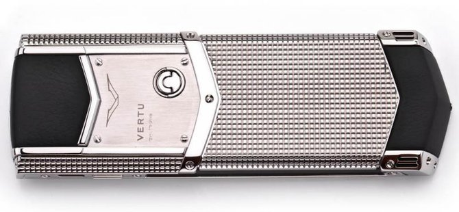 Vertu 0020V20 Signature S Design Clous De Paris Steel - фото 21