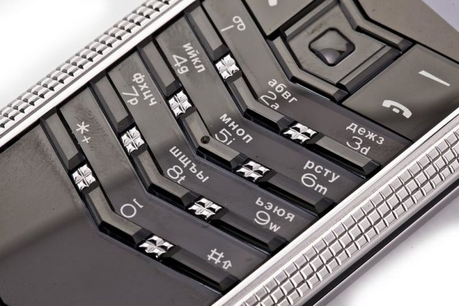Vertu 0020V20 Signature S Design Clous De Paris Steel - фото 12
