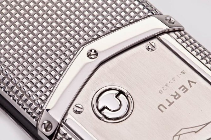 Vertu 0020V20 Signature S Design Clous De Paris Steel - фото 24