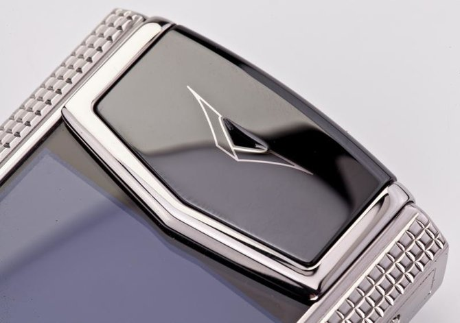 Vertu 0020V20 Signature S Design Clous De Paris Steel - фото 19