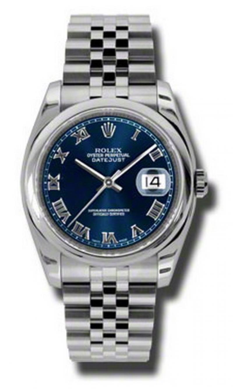 116200 blrj Rolex Steel Datejust