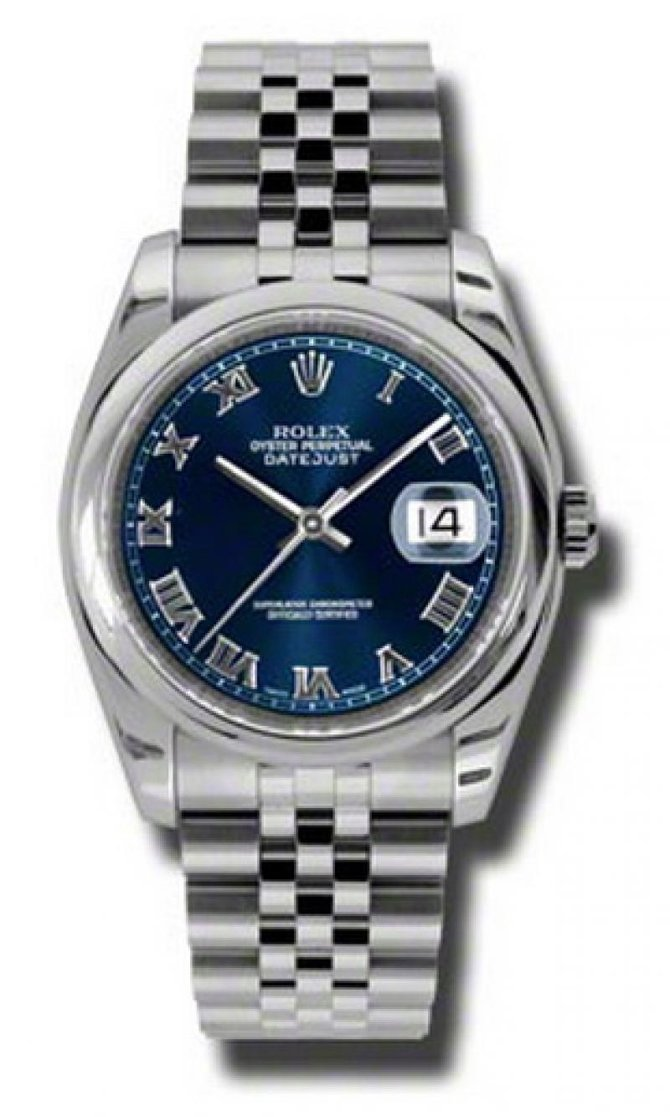 Rolex 116200 blrj Datejust Steel - фото 1