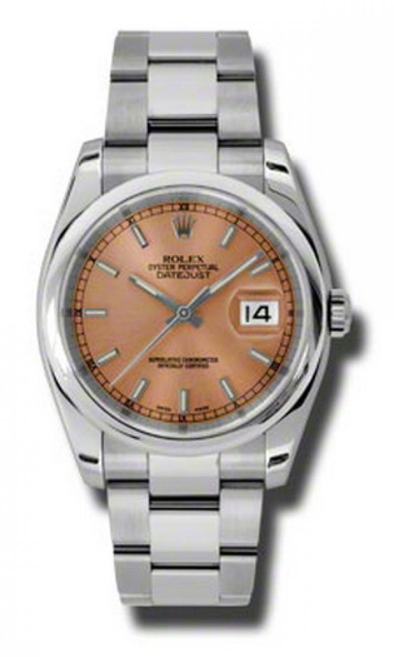 116200 pso Rolex Steel Datejust