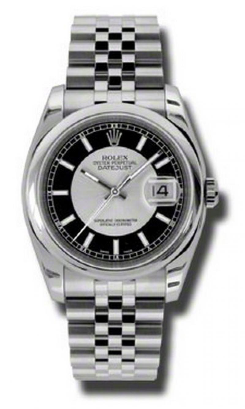 116200 sibksj Rolex Steel Datejust