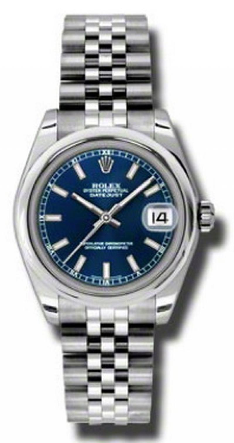 178240 blsj Rolex Steel Datejust Ladies
