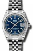 Rolex Datejust Ladies 178240 blsj Steel