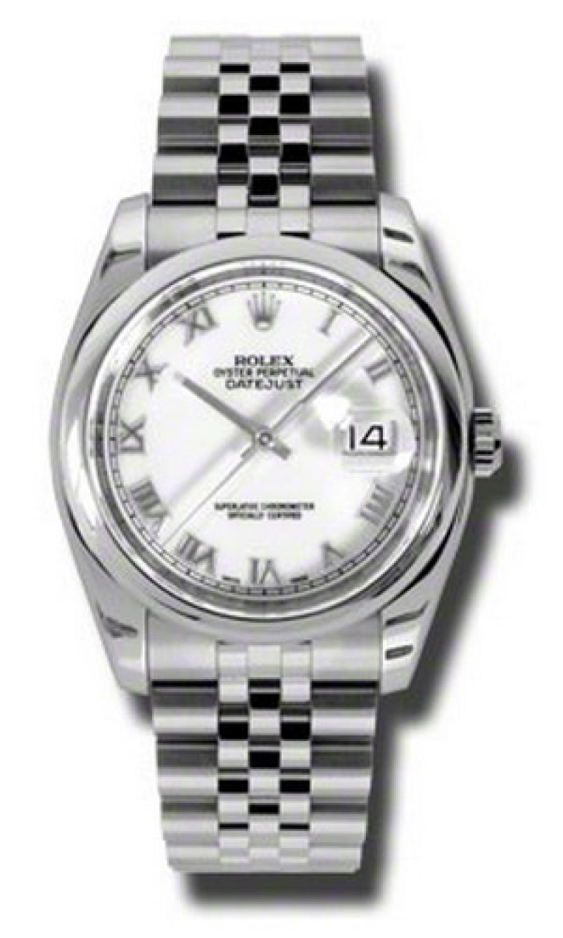 116200 wrj Rolex Steel Datejust