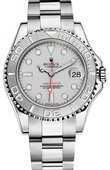 Rolex Yacht Master II 168622 Yacht-Master 35mm Platinum and Steel
