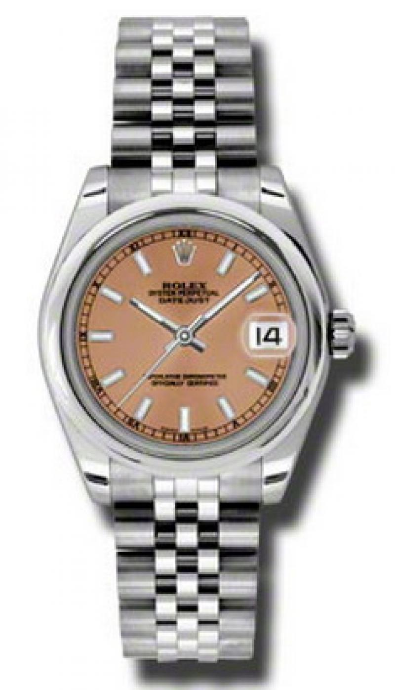 178240 csj Rolex Steel Datejust Ladies