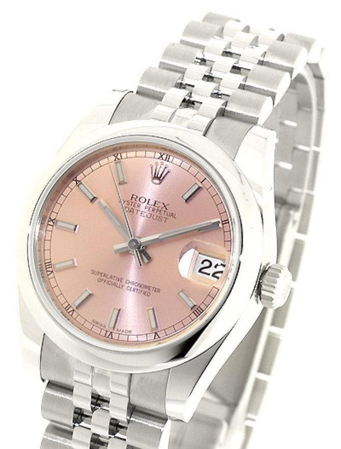 Rolex 178240 pink Datejust Ladies Steel - фото 1