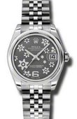 Rolex Datejust Ladies 178240 rfj Steel