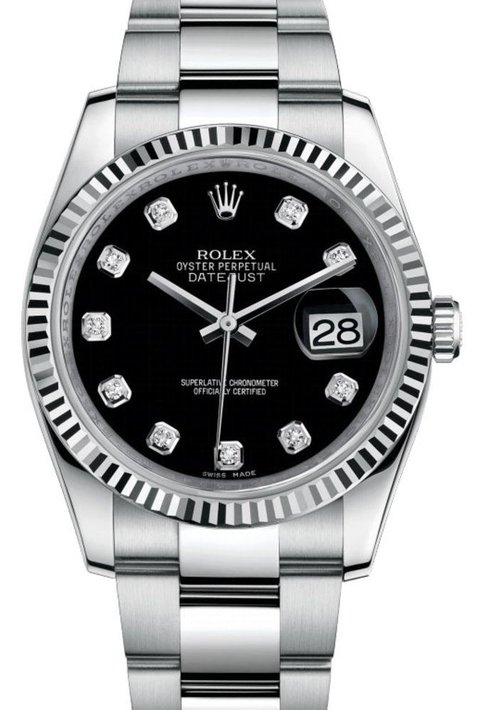 Rolex 116234 bkdo Datejust Steel