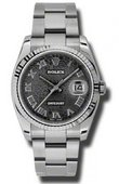 Rolex Datejust 116234 bkjro Steel