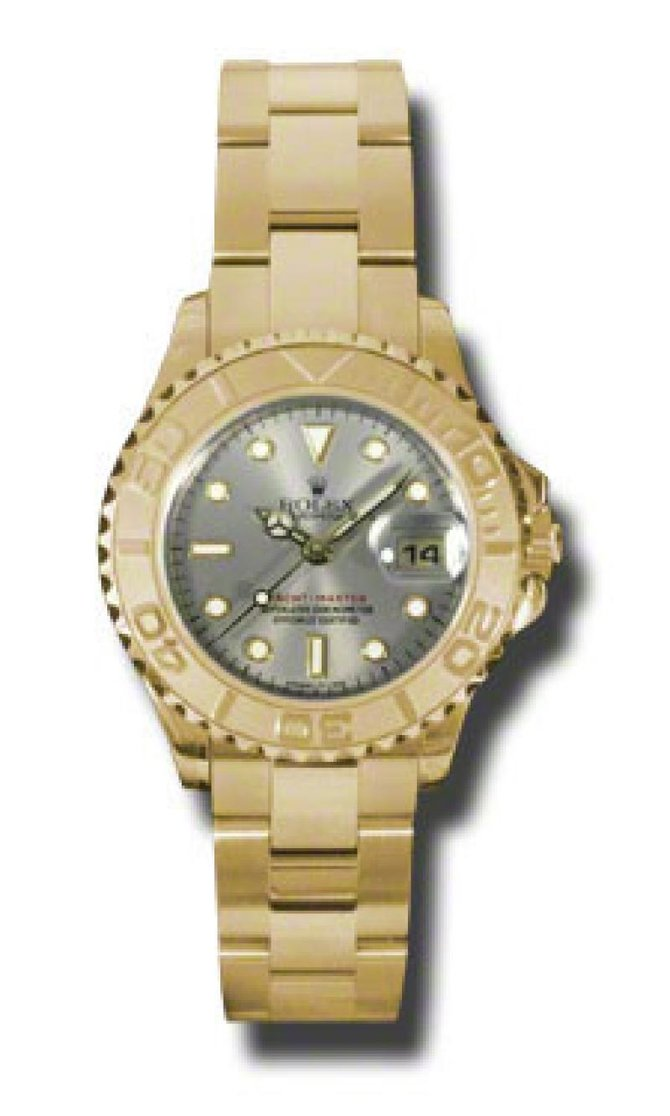 169628 grey dial Rolex Yacht-Master 29mm Yellow Gold Yacht Master II