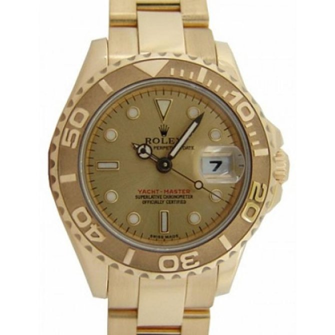 Rolex 169628 Champagne Yacht Master II Yacht-Master 29mm Yellow Gold - фото 2