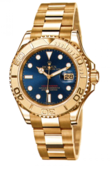 Rolex Yacht Master II 169628 Blue Yacht-Master 29mm Yellow Gold