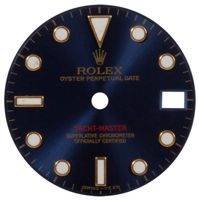 Rolex 169628 Blue Yacht Master II Yacht-Master 29mm Yellow Gold - фото 6